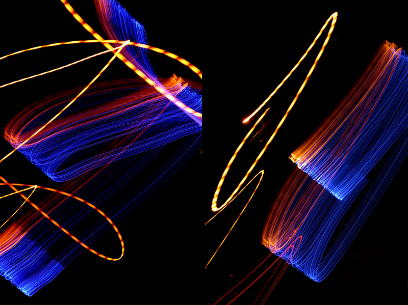 Photographie Light painting