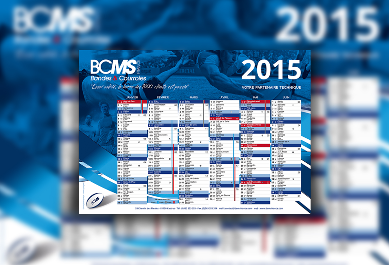Calendrier, BCMS France