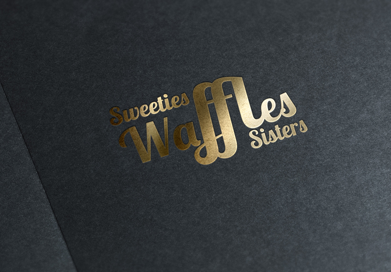 Logotype, Sweeties Waffles Sisters