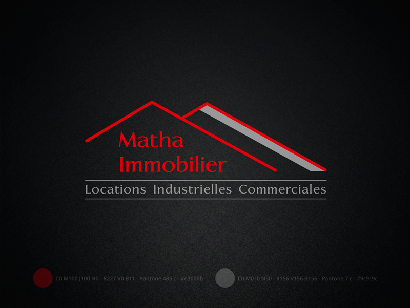 Logotype, matha Immobilier
