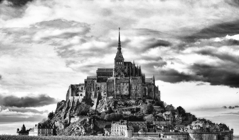 Photographie du Mont Saint-Michel