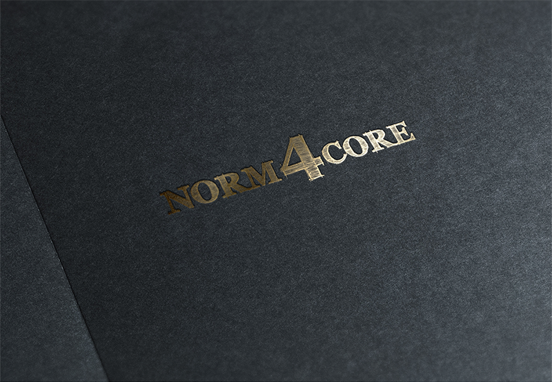 Logotype, Norm4core Kinematic Designer