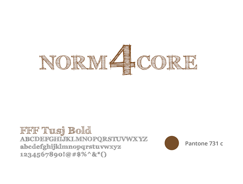 Construction Logotype, Norm4core Kinematic Designer